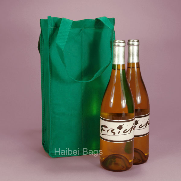2 Bottles Wine Tote Bag